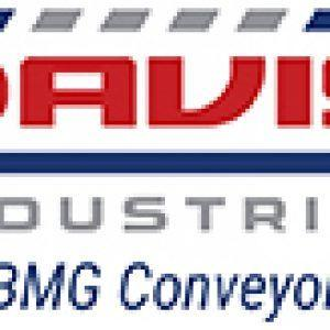 Davis Industrial Logo, with the tag line formely BMG Conveyor Services