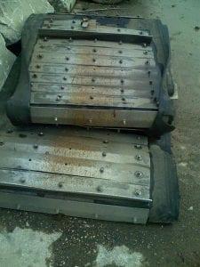 damaged conveyor chain parts