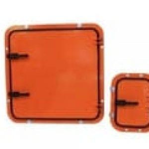 Conveyor safety doors