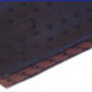 Closeup of superscrew lacing